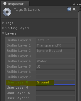 Player Controls - Add Layer