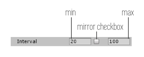 interval mirror disabled - Property Drawers