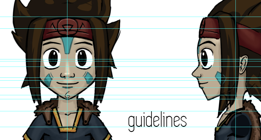 guidelines photoshop